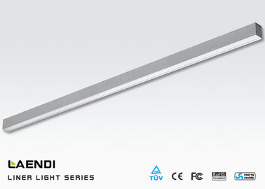 China 4ft Linear Batten Led Light 25w 120cm SMD2835 100lm/W For Shop Lighting supplier