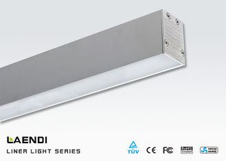 China Linear Office Lighting / 4ft 1.2m Suspended Linear Led Lighting 25w supplier