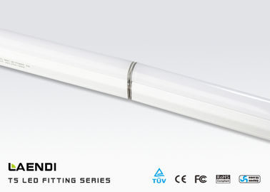 18w T5 Led Fluorescent Tube ,  300mm t5 Led Shop Lights 100vac - 240vac Silver Color