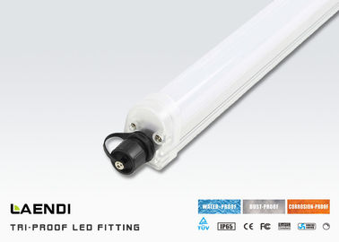 China 6000K 2 Foot Led Linear Light For Garage Lighting , Ip65 Led Batten TUV Approved factory