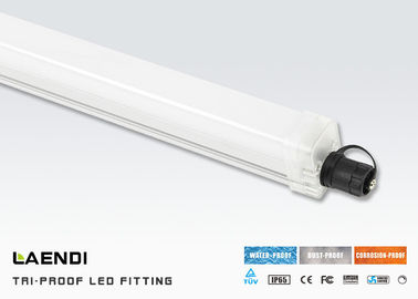 China Warehouse Ip65 Tri Proof LED Light 10 watt 2ft 120lm/w CRI80 6000K - 6500K factory