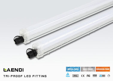 China TUV Listed Ip65 T8 Integrated Led Tube 20w 4ft Led Batten Light 2500lm factory