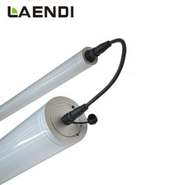 China 5ft Fluro Batten Lights 70W Linear Fixture , Round Led Tube Lights For Garage factory