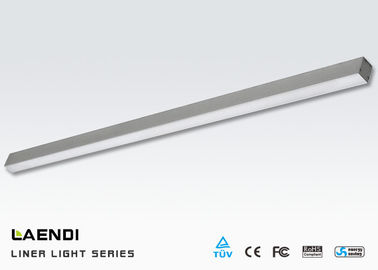 Suspended 4ft 25W Led Linear Lamp For Industrial Led Lighting 80ra