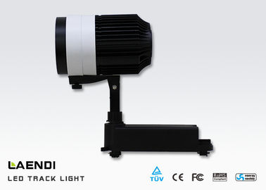 China 35w Led Track Light For Gallery , 100lm/W Commercial Led Track Lighting factory