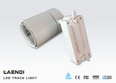 China IP20 Cob Led Track Light High Cri90 , Led Tracking Lights For Show Room Shop factory