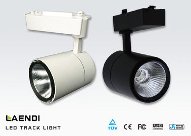 30w Cob Led Track Light 60 Degree Ceiling Mounted Track Lighting 100lm/W