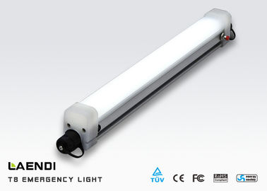 China T8 Emergency Led Tube Light Integrated , 600mm Emergency Tube Light With Battery factory