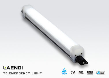 4ft Led Linear Tube Light / Emergency Led Triproof Light 1200mm 25 Watt