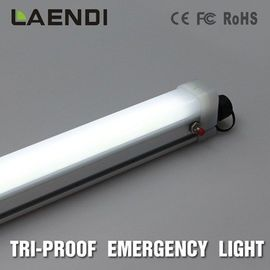 China 3ft Emergency LED Tube Light For Tunnels , 900mm Tri Proof Led Light 24w factory