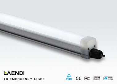 China Garage High Power Led Emergency Light 2ft 18w With Battery 133° Beam Angle factory