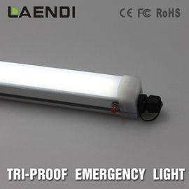 5ft Emergency LED Tube Light Ra80 , Waterproof Battery Led Linear Tube 100lm/W